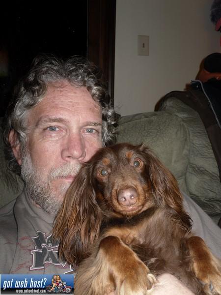 Hershey and baddog