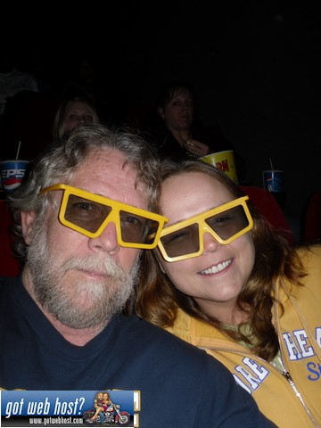 Tanya and me doing 3D