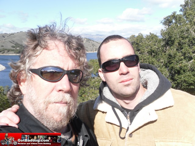 Daniel and me at Lake Cachuma