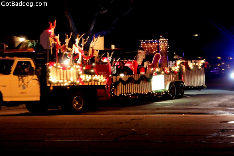 Photo of Torrance Police Officers' Association Santa Claus float