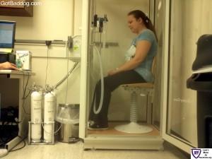 Pulmonary exam