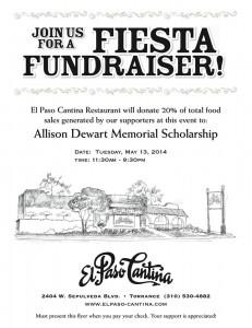 dewart fundraiser flyer